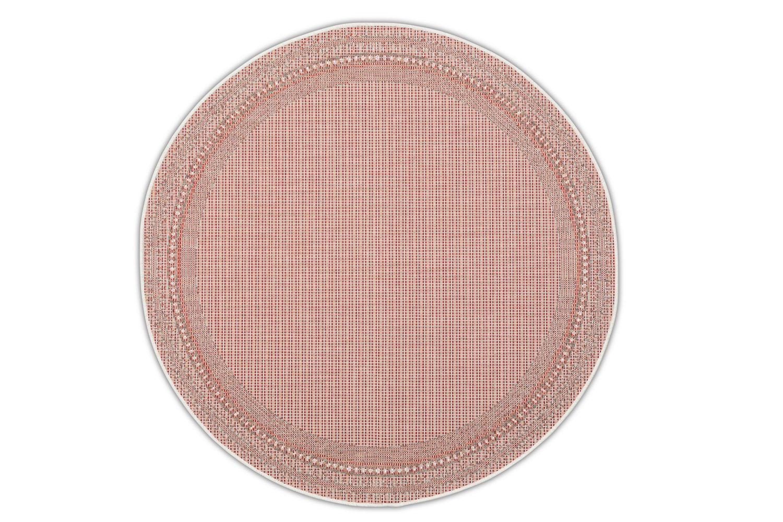 Okrągły dywan zewnętrzny – Harper Red Roolf-Living
