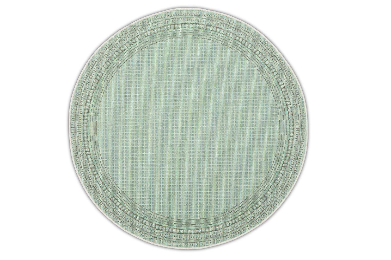 Okrągły dywan zewnętrzny – Harper Lime Roolf-Living