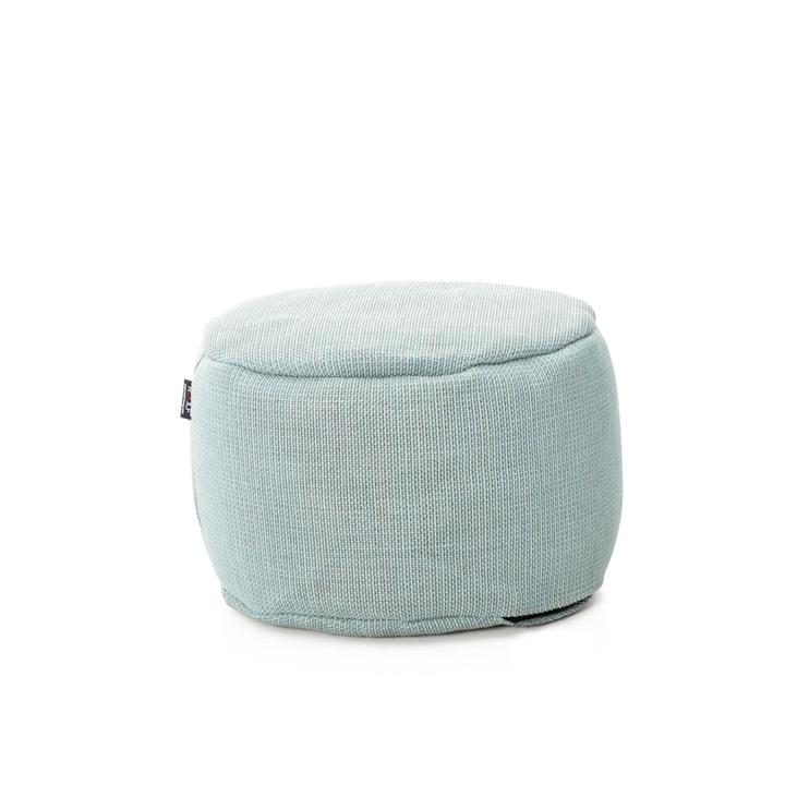 Pufa okrągła 50cm – Pastel Blue